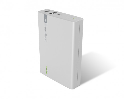 Powerbanks GP 1C10AWE kapasitet på 10400mAh